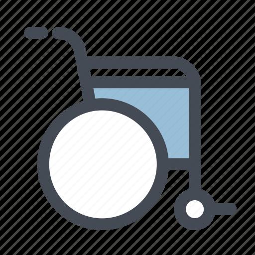 care, doctor, health, hospital, medicine, patient, wheelchair icon