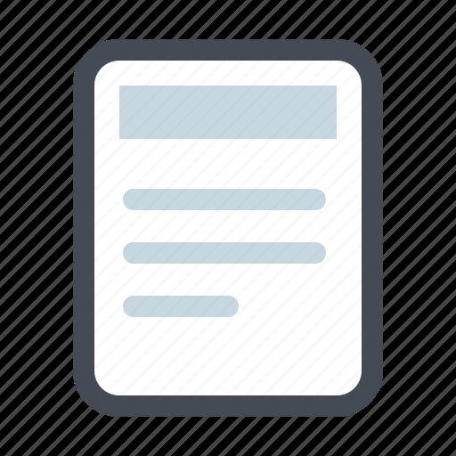 clinic, documents, files, hospital, letter, patient, prescription icon