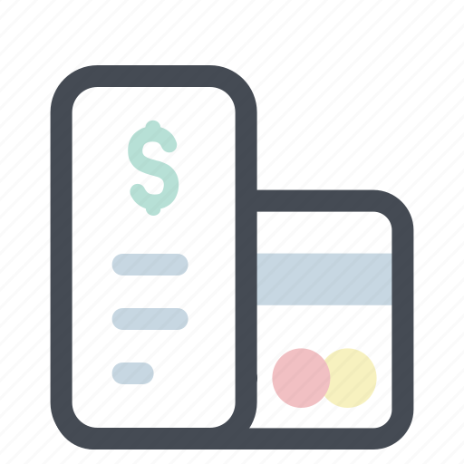 bill, card, health, hospital, medicine, payment, receipt icon