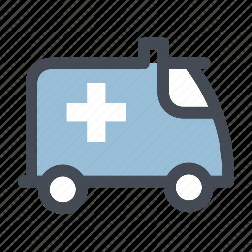 ambulance, emergency, emergency vehicle, first aid, health, health care, medicine icon