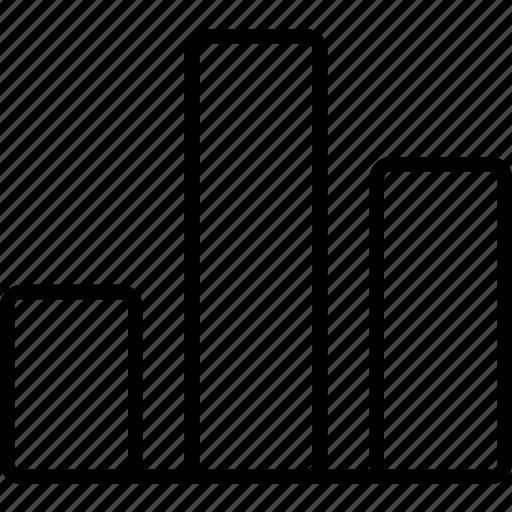 bargraph, business, finance, graph, statistics icon
