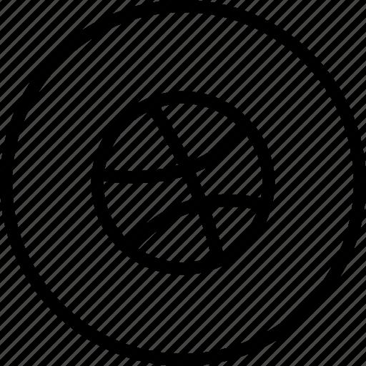 dribbble, dribble, logo, media, social icon