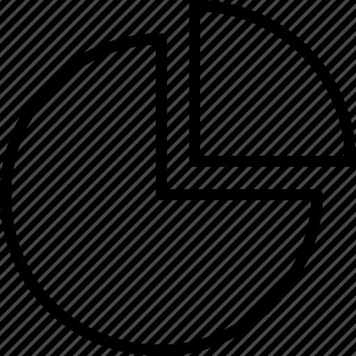 chart, graph, pie, piechart, statistics icon