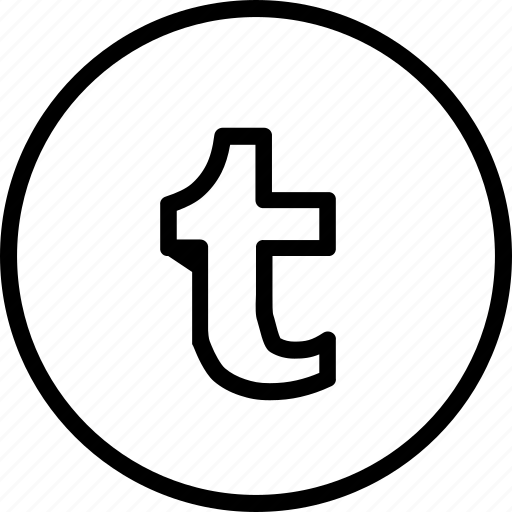 logo, media, social, tumbler, tumblr icon