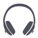 audio, audioguide, guide, headphones, media, multimedia, music, note, player, sound, speaker, volume icon