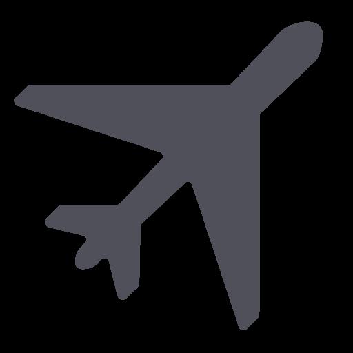 airplane, airport, flight, fly, plane, traffic, transport, transportation, travel, vehicle icon