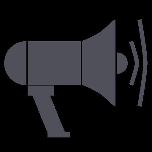blog, blogger, megaphone, post, speaker icon