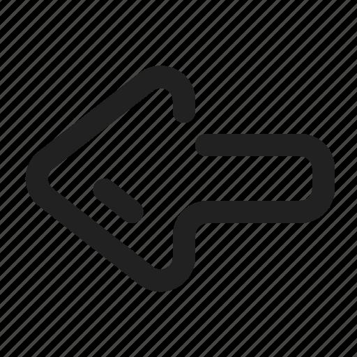 App, arrow, element, left, ui, website, west icon - Download on Iconfinder