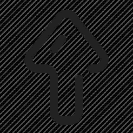 app, arrow, element, north, ui, up, website icon