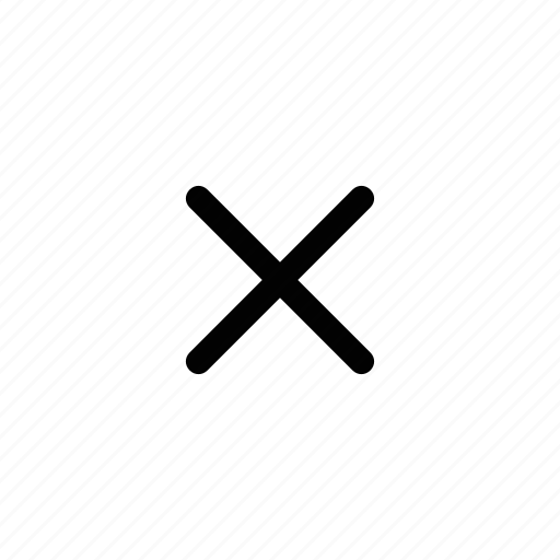 Cross, cancel, close, delete, remove icon - Download on Iconfinder