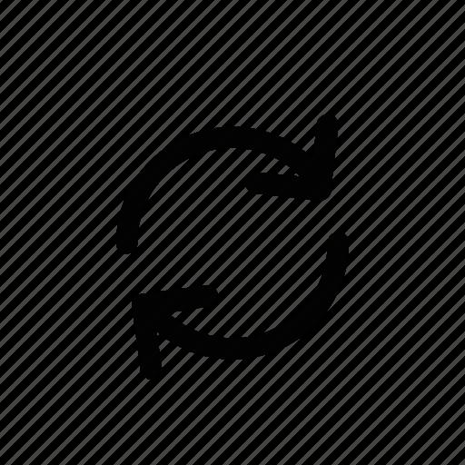 flip, swap, switch, turn icon