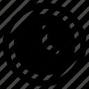 alarm, clock, interface, media, time, user icon