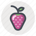 dessert, gift, passion, romantic, strawberry, sweet, valentine icon