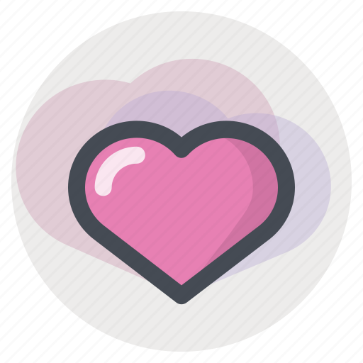 a dream, heart, love, lovers, meeting, passion, valentine's day icon
