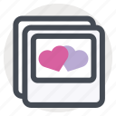 frame, love, meeting, memory, passion, photo, valentine's day icon