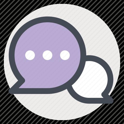 bubble, chat, letter, message, talk, text, valentine icon