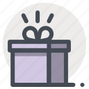 a gift of fate, box, gift, meeting, package, present, valentine icon