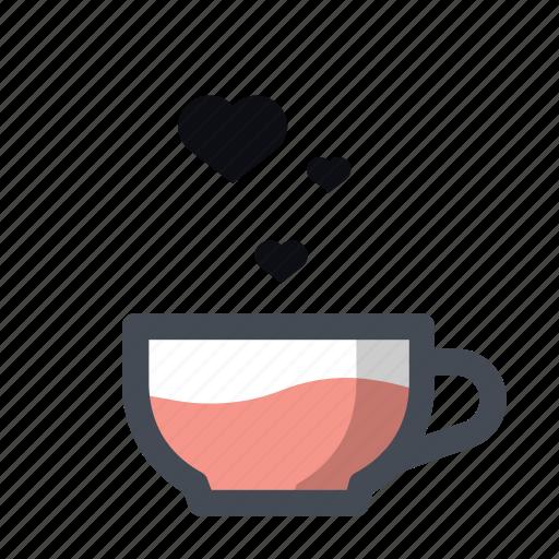 coffee, dating, love, meeting, romantic, valentine, valentine's day icon