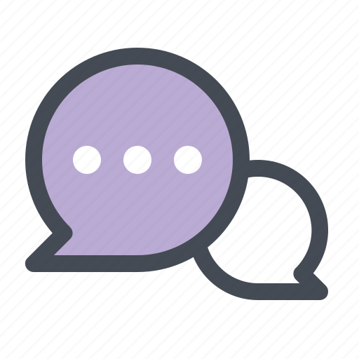 chatting, communication, love, love chat, lovers, romance, valentine's day icon