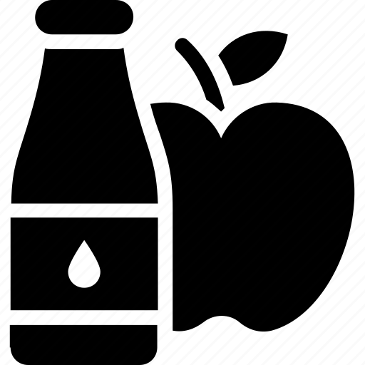 apple drink, apple juice, fruit juice, healthy drink, natural drink icon