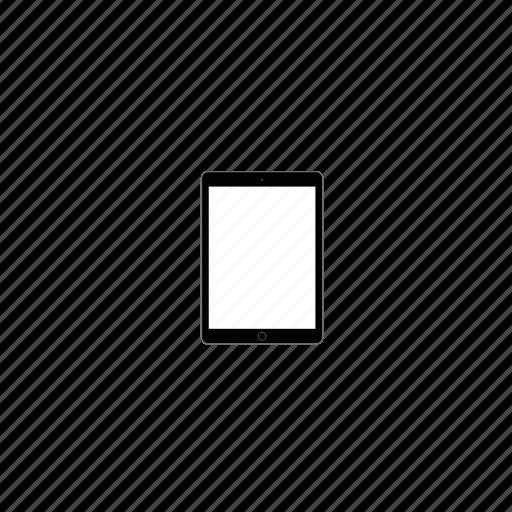 air, apple, ipad, ipad air, tablet icon