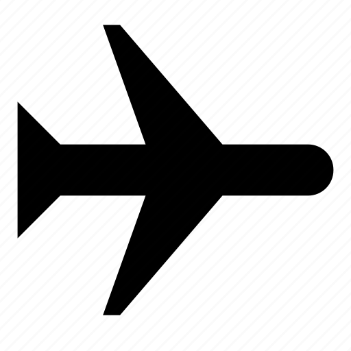 aircraft, airplane, apple, fly, holidays, plane, travel icon