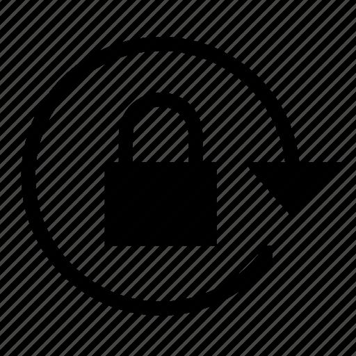 Apple, Auto, Auto Lock, Block, Lock, Unlock Icon