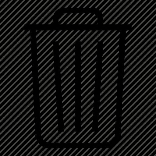 apple, bin, delete, deleted, file, rubbish, trash icon