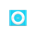 apple, blue, ipod, product, shuffle icon