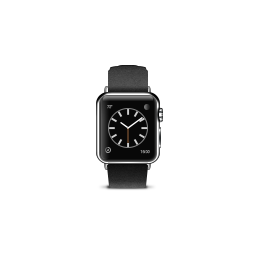 apple, black, buckle, classic, product, watch icon