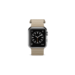 apple, leather, loop, product, stone, watch icon