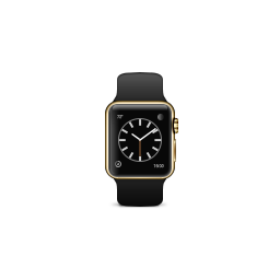 apple, band, black, edition, gold, product, sport, watch icon