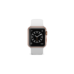 apple, band, edition, gold, product, rose, sport, watch, white icon