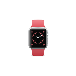apple, band, pink, product, sport, watch icon