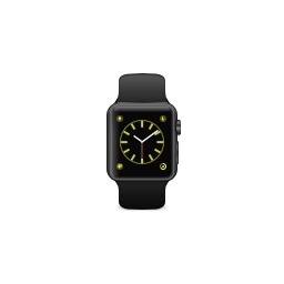 aluminium, apple, band, black, gray, product, space, sport, watch icon
