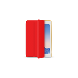 apple, gold, ipad, product, red, smartcover icon