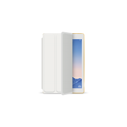 apple, gold, ipad, product, smartcover, white icon
