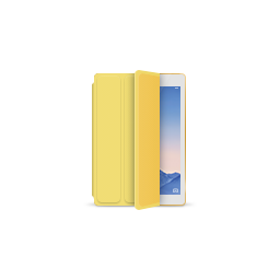 apple, gold, ipad, product, smartcover, yellow icon