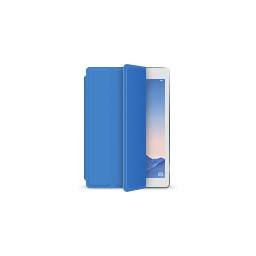 apple, blue, ipad, product, silver, smartcover icon