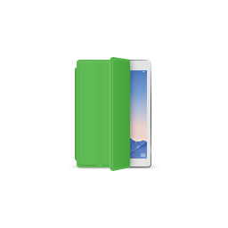 apple, green, ipad, product, silver, smartcover icon