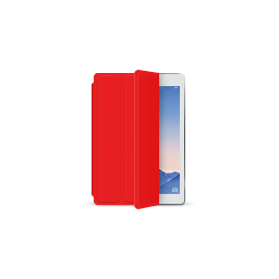apple, ipad, product, red, silver, smartcover icon