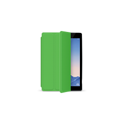 apple, gray, green, ipad, product, smartcover, space icon