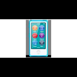 apple, blue, ipod, nano, product icon