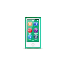 apple, green, ipod, nano, product icon