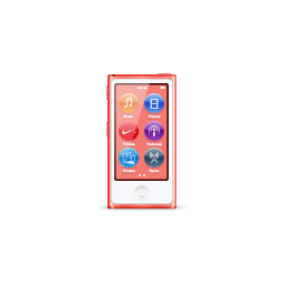 apple, ipod, nano, pink, product icon