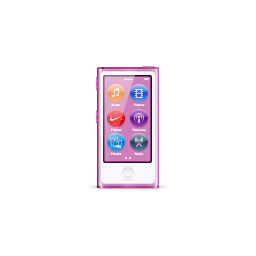 apple, ipod, nano, product, purple icon