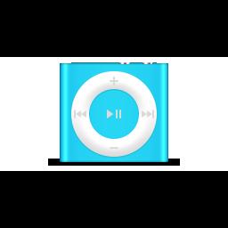 apple, blue, ipod, product, shuffle icon