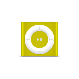 apple, citrus, ipod, product, shuffle icon