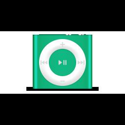 apple, green, ipod, product, shuffle icon