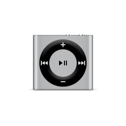 apple, ipod, product, shuffle, silver icon